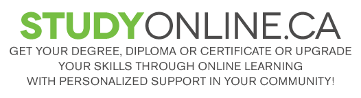 StudyOnline.ca: Get education & Training in Your Community